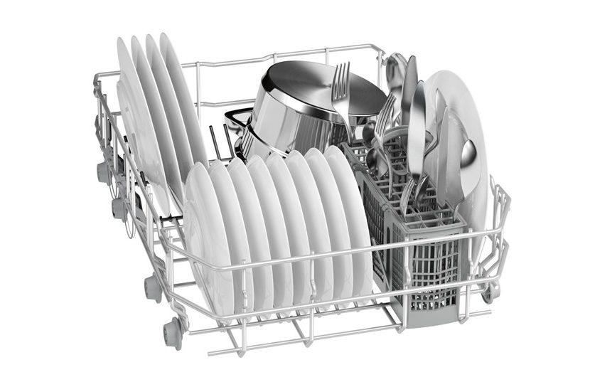 Вместительность корзины посудомоечной машины Бош SPV40X80RU