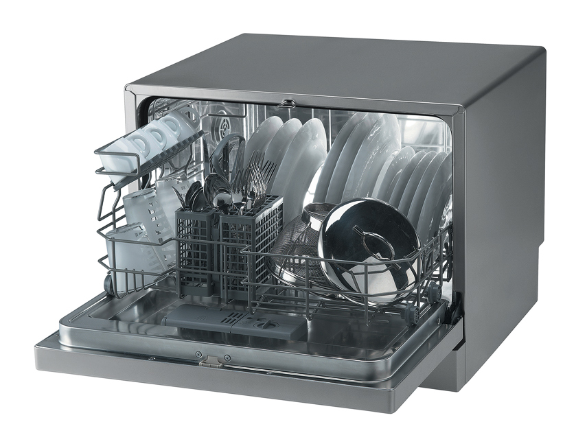 Вместительность посудомойки Candy Cdcf 6 07