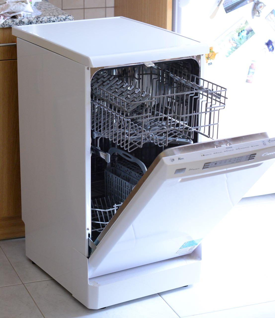 Конструкция посудомойки Candy Cdp 4609