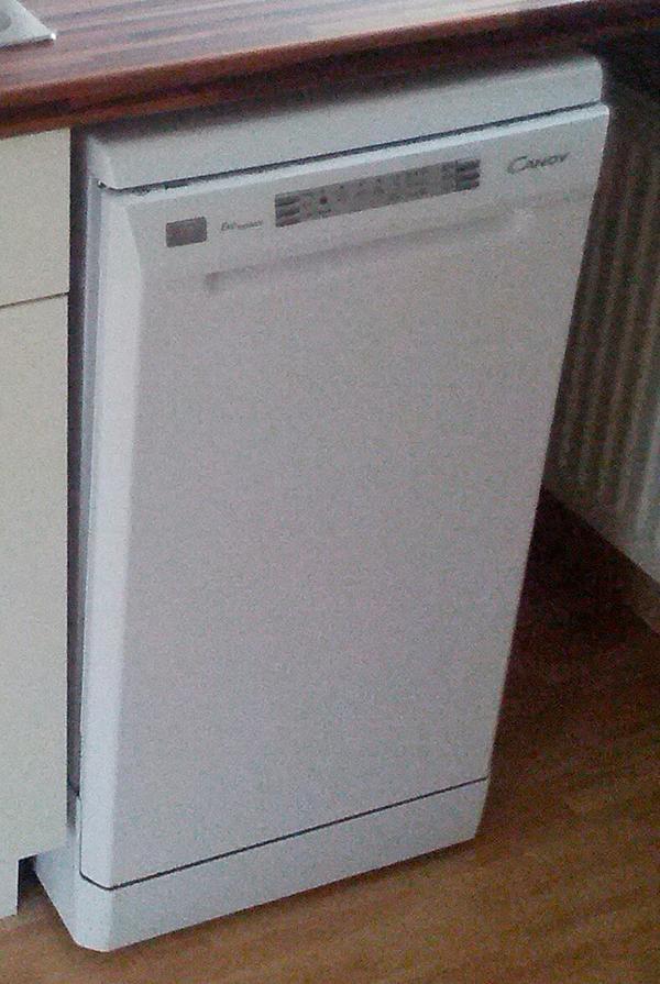 Способ монтажа посудомоечной машины Candy Cdp 4609