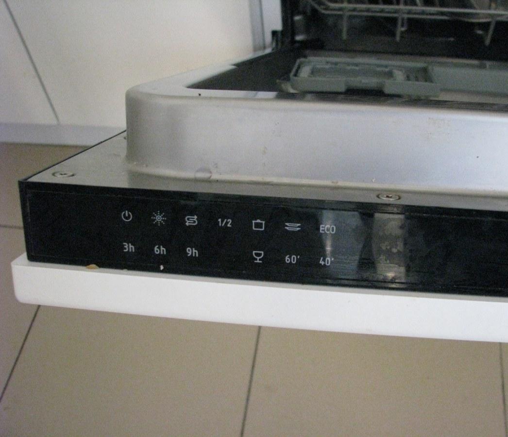 Часть панели управления посудомоечной машині HANSA ZIM 446 EH