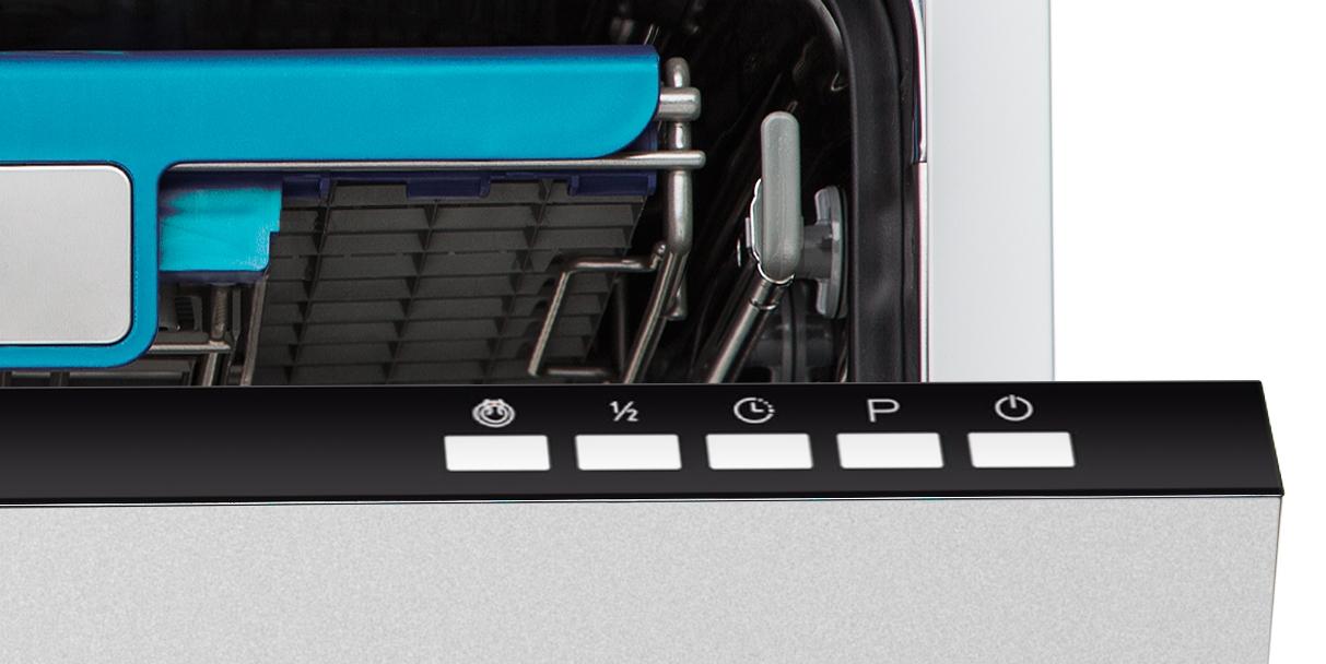 Фрагмент панели управления посудомойки Кортинг Kdi 45165