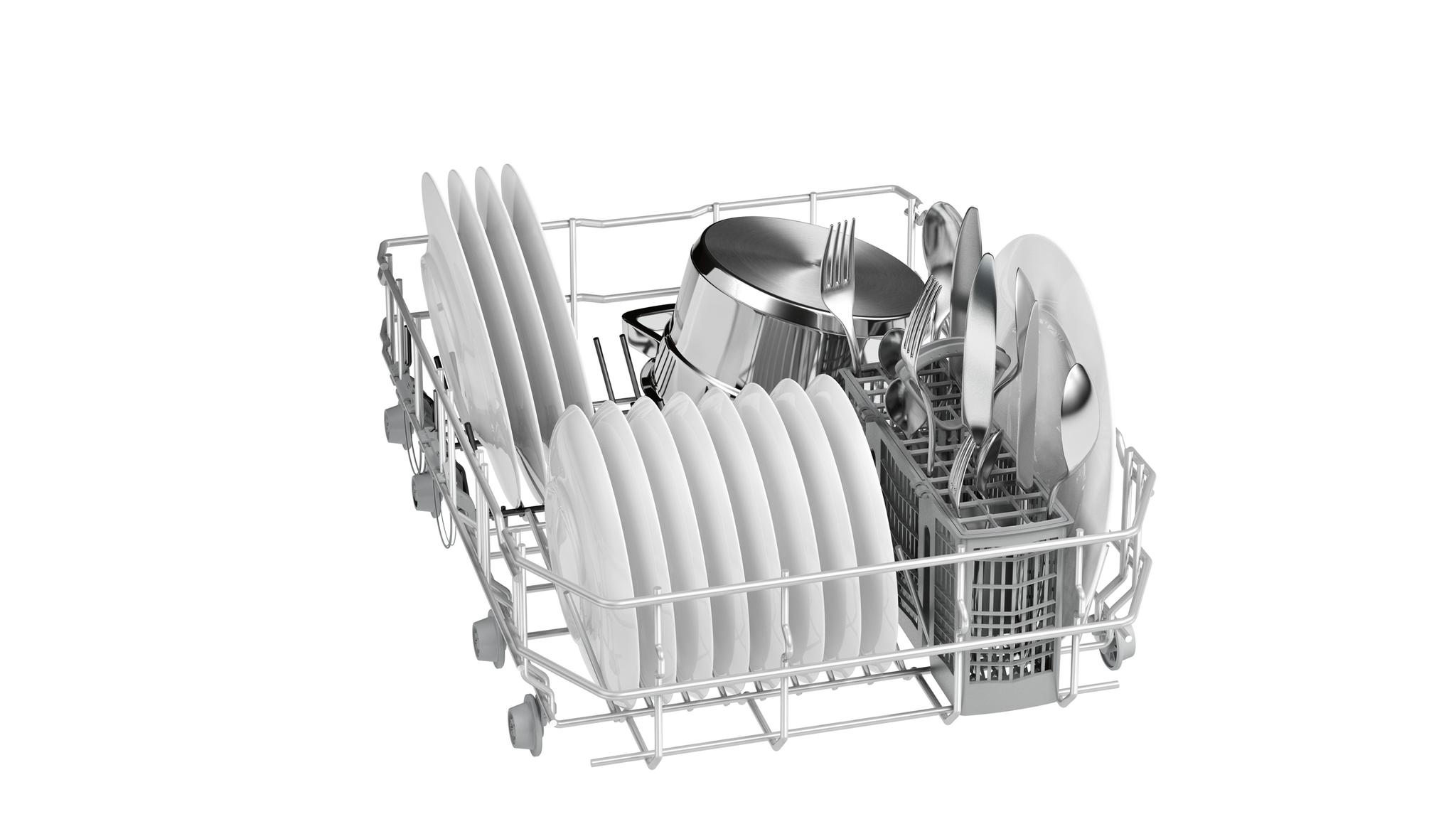 Вместительность корзины посудомойки Simens SR24E202RU