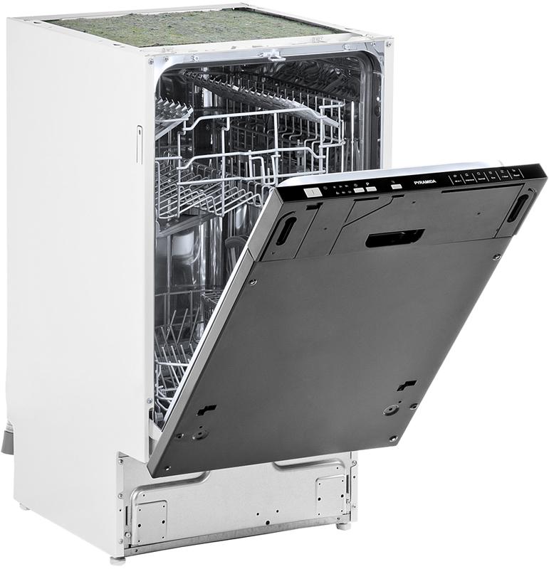 Внешний вид встроенной посудомоечной машины до монтажа