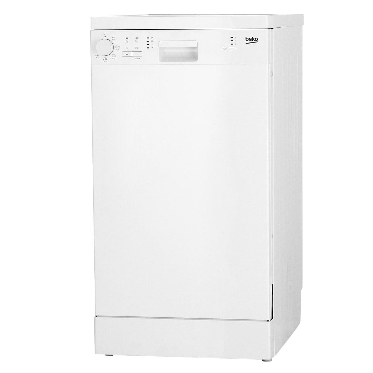 Дизайн посудомоечной машины Беко DFS 05010 W
