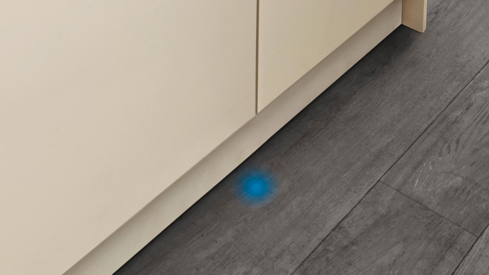 Проекция луча посудомоечной машины Сименс SR64M030RU
