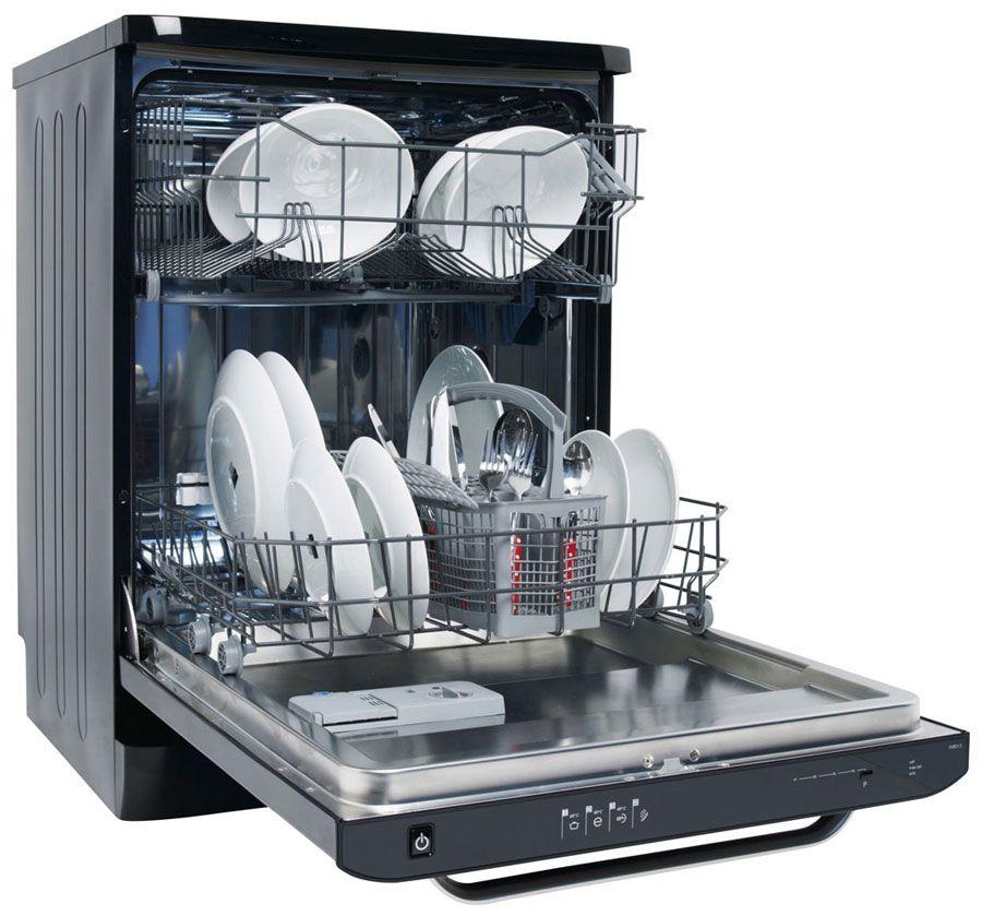 Правильная расстановка посуды в корзинах