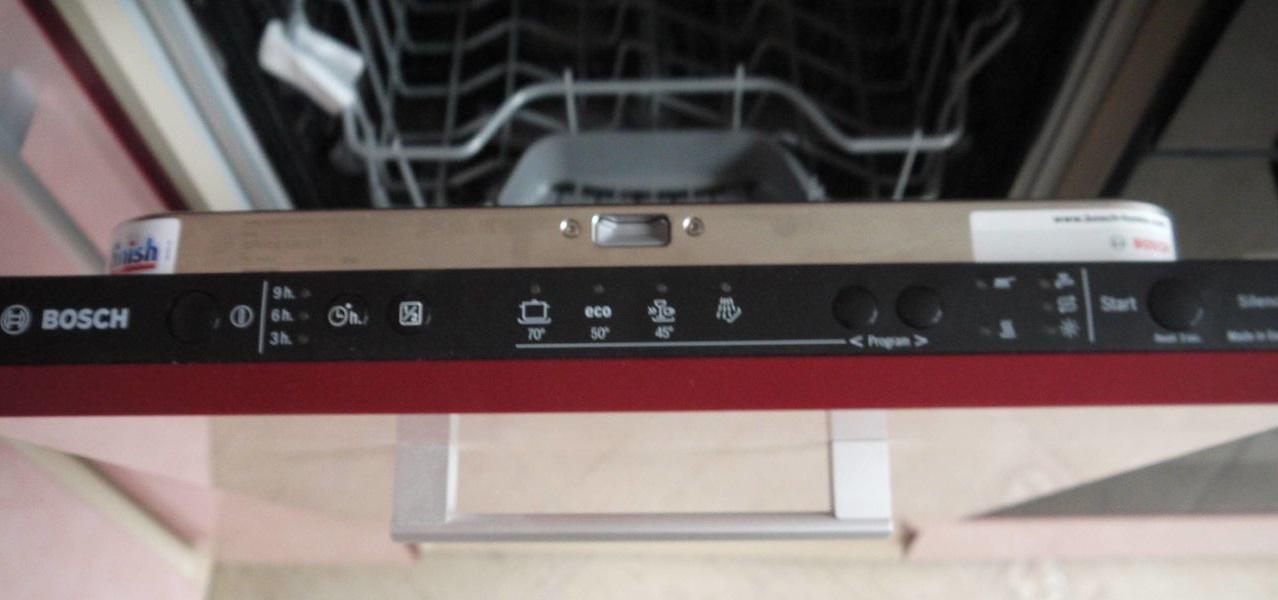 Панель управления посудомоечной машины Bosch SPV 40E10RU
