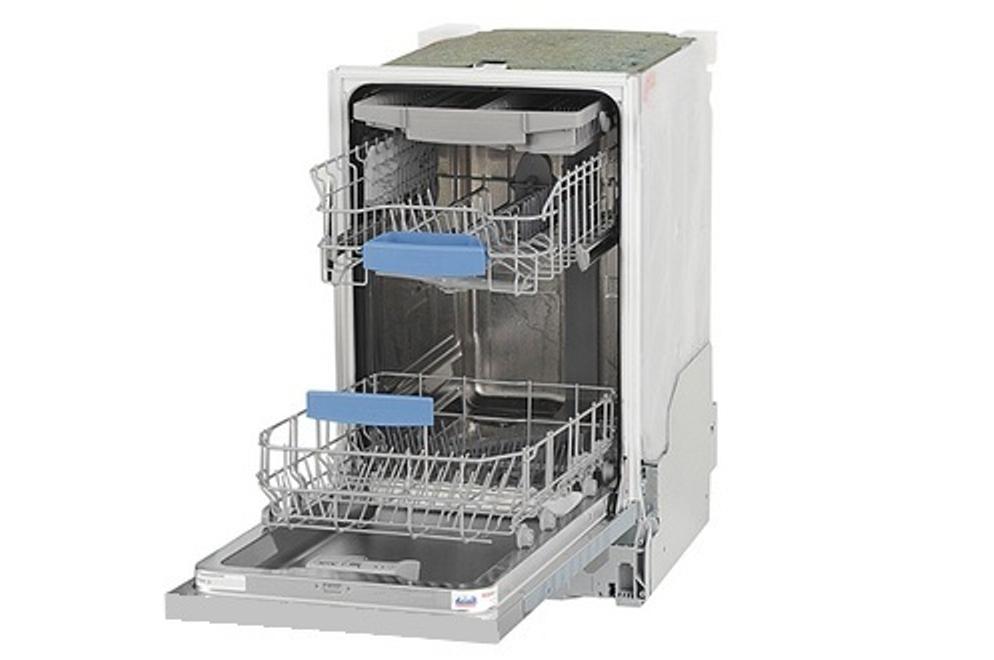 Внутренее пространство посудомойки Бош SPV 40E10RU