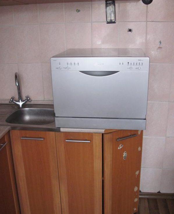 Вариант установки посудомойки Канди CDCF 6S 07
