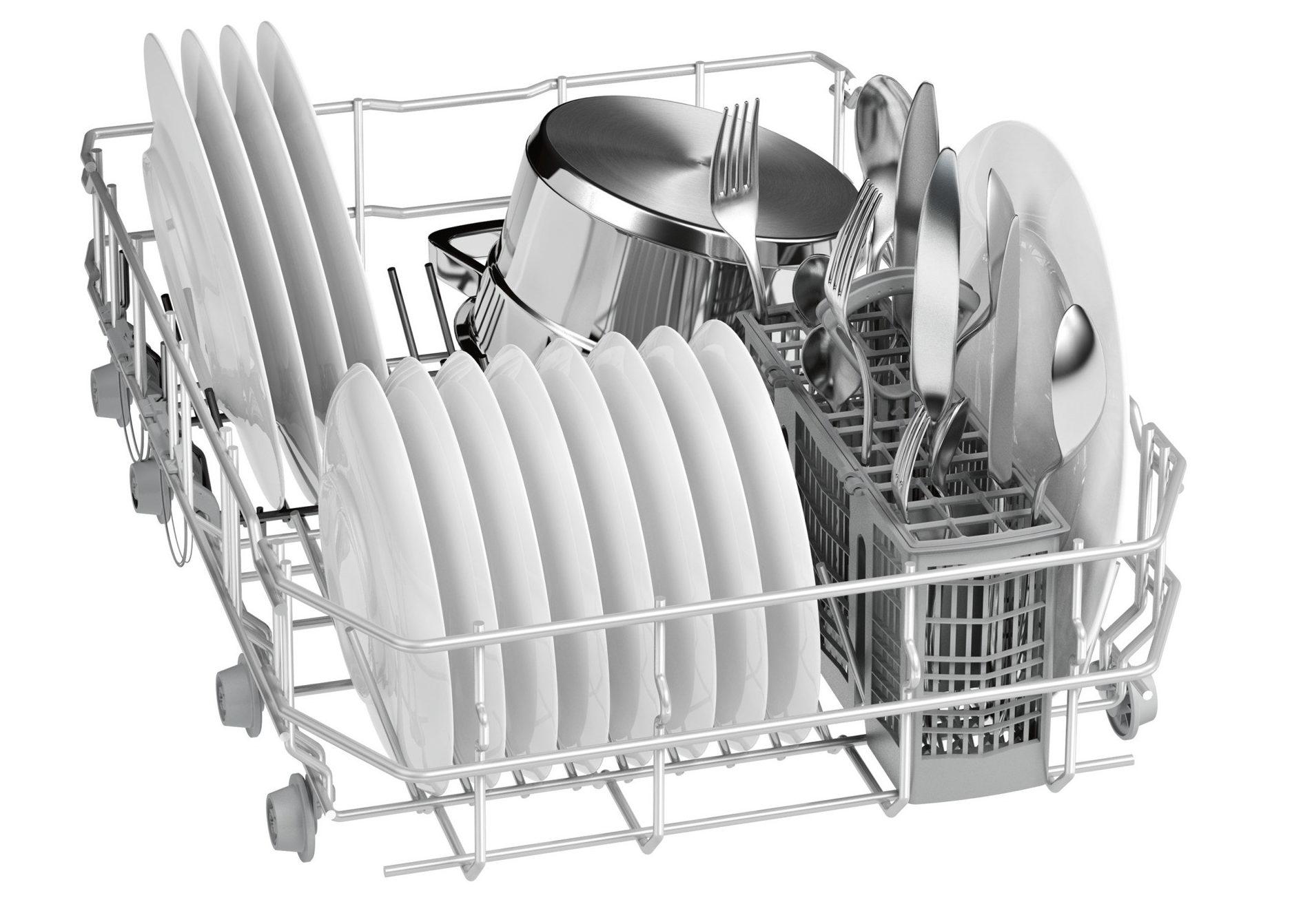 Нижняя корзина посудомойки Сименс SR64E005RU