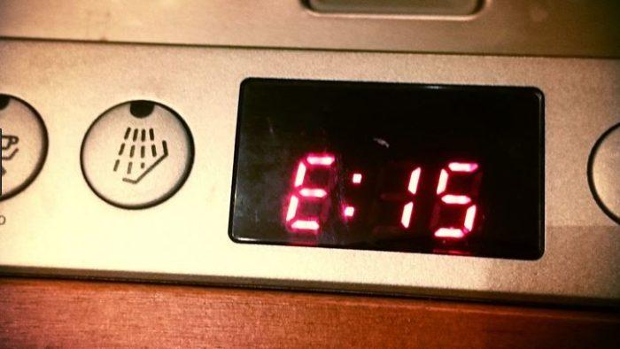 Ошибка Е15 посудомоечной машины Bosch
