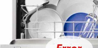 Ошибки посудомоек Electrolux